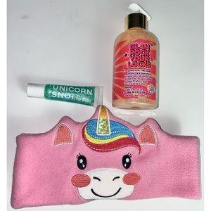 Girls Unicorn Makeup | Hair Glitter Lip Gloss